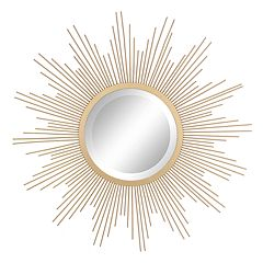 Stonebriar Collection Gold Starburst Hanging Mirror