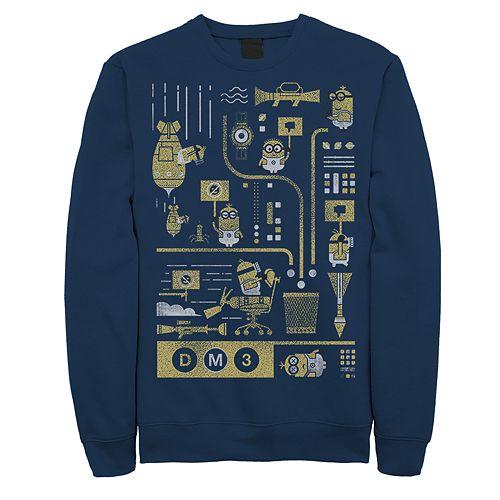 Men's Minions Bad Ideas Sweatshirt