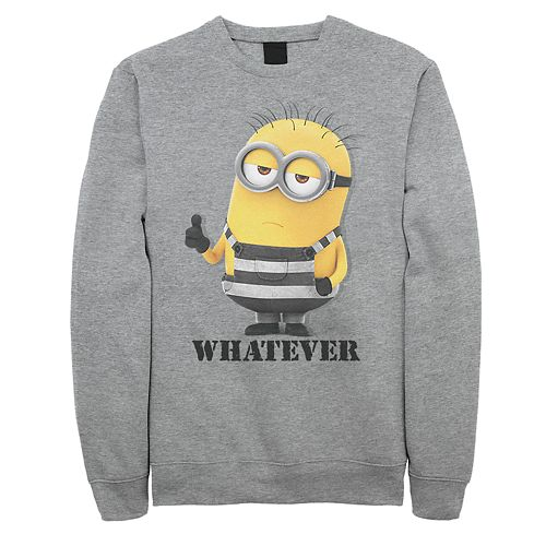 "Men's Minion ""Whatever"" Sweatshirt"