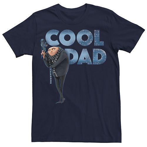 """Men's Despicable Me Gru """"Best Dad"""" Tee"""