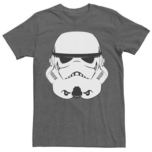 Men's Star Wars Stormtrooper Helmet Tee