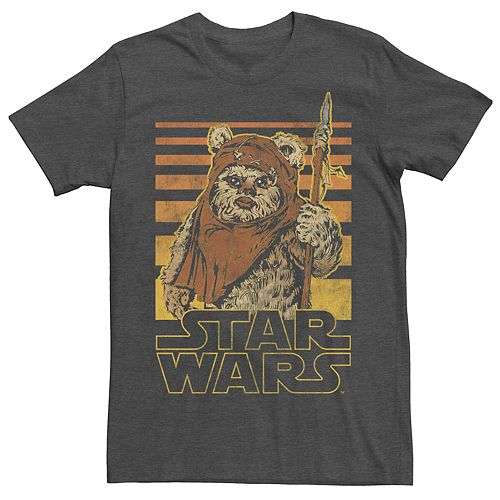 Men's Star War Ewok Logo Tee