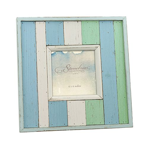 "Stonebriar Collections 4"" x 4"" Wood Photo Frame"