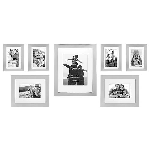 Stonebriar Collection Decorative 7-Piece Photo Frame Set