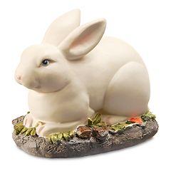 National Tree Company Resting Bunny Table Decor