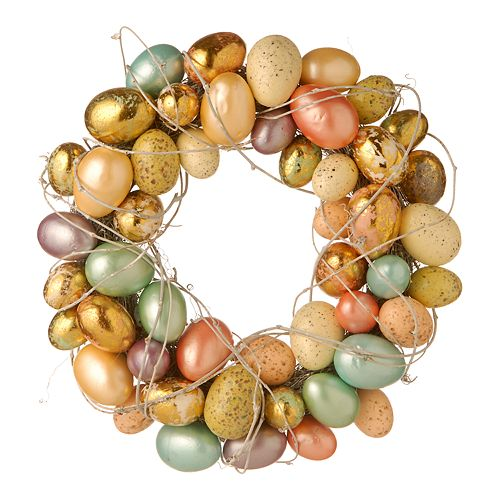 "National Tree Company 16"" Artificial Easter Egg Wreath"