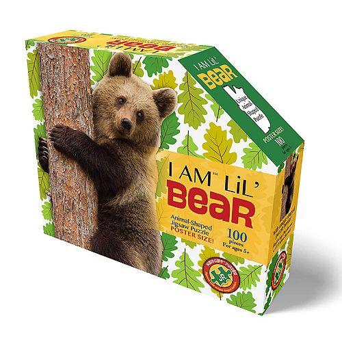 Madd Capp Puzzle Jr. - I Am Bear 100 Piece Puzzle