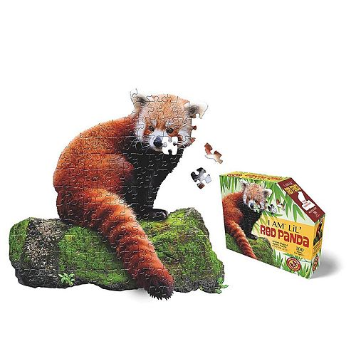 Madd Capp Puzzle Jr. - I Am Red Panda 100 Piece Puzzle