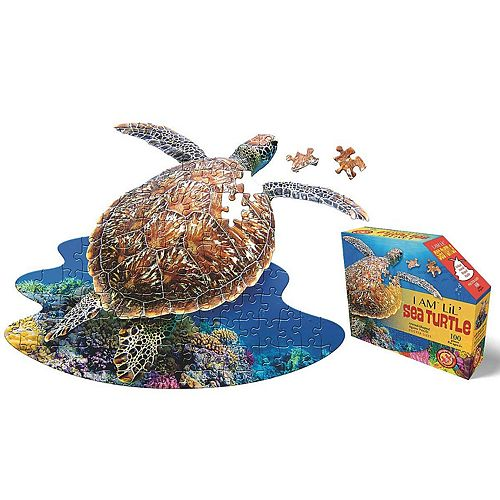 Madd Capp Puzzle Jr. - I Am Sea Turtle 100 Piece Puzzle
