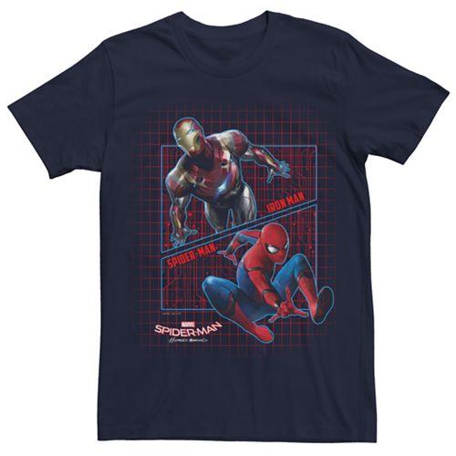Mens Spiderman Homecoming Iron Spidey Tee