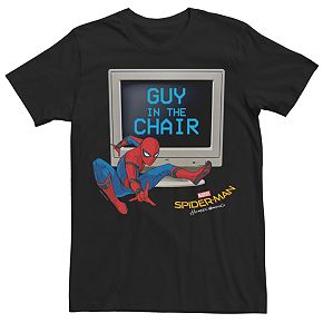 Men's Spider-Man Homecoming Guy In The Chair Tee