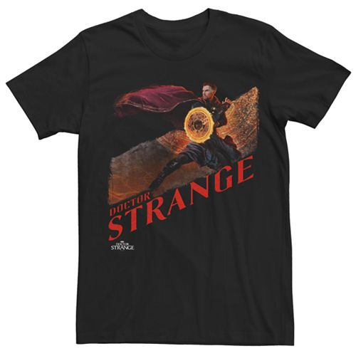 Mens Doctor Strange Dimensional Tear Tee