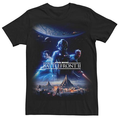 Men's Star Wars Battlefront II Poster Tee