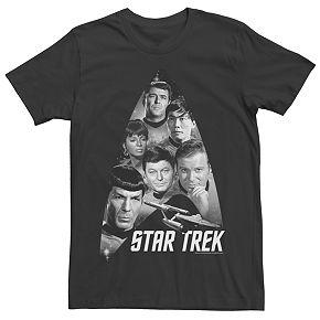 Men's Star Trek: The Original Series The Gang Retro Tee