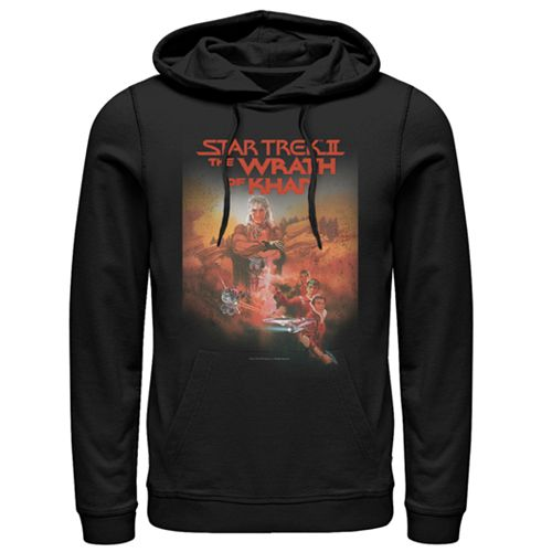Men's Star Trek II: The Wrath of Kahn Vintage Pull-Over Hoodie