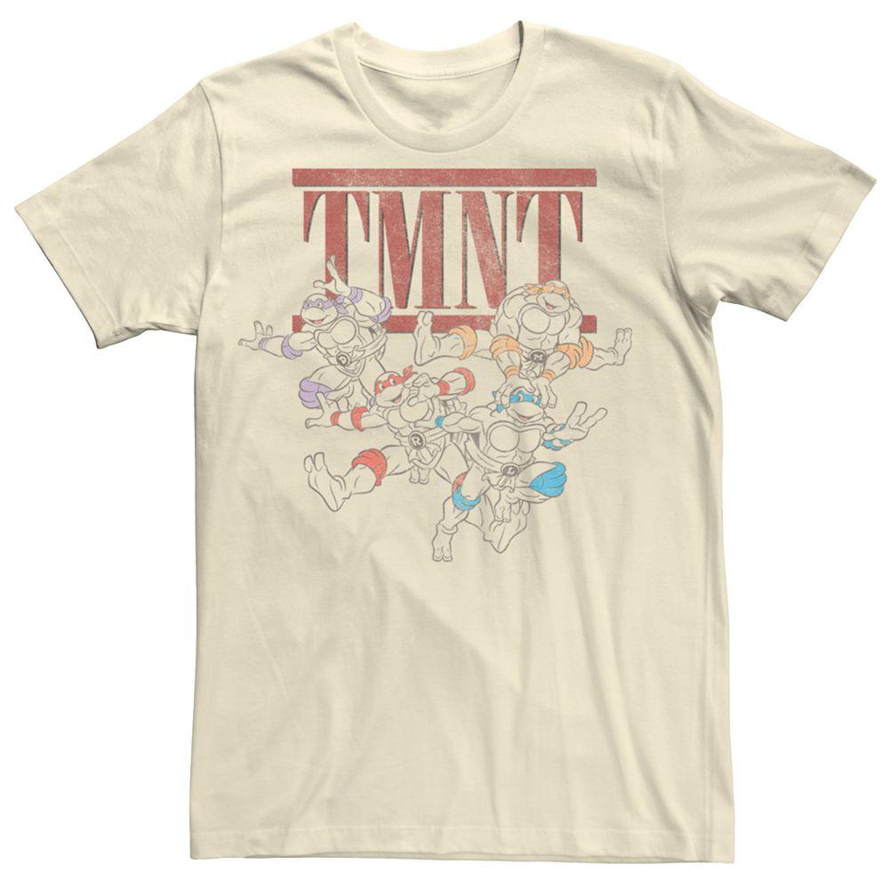 Men's Teenage Mutant Ninja Turtles TMNT Group Tee