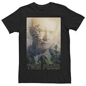 Men's Twin Peaks Agent Cooper Tee