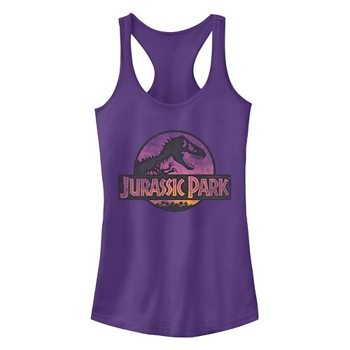 Juniors' Jurassic Park Tank Top