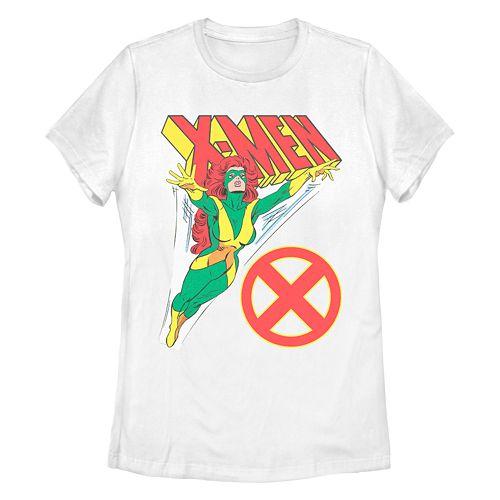Juniors' Marvel X-Men Retro Jean Grey Graphic Tee