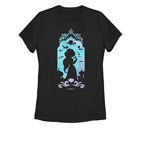 Juniors' Disney's Aladdin Jasmine's Palace Graphic Tee