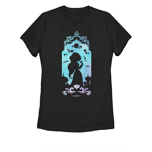 Juniors' Disney's Aladdin Jasmine's Palace Graphic Tee