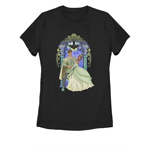 Juniors' Disney's The Princess and the Frog Tiana Graphic Tee