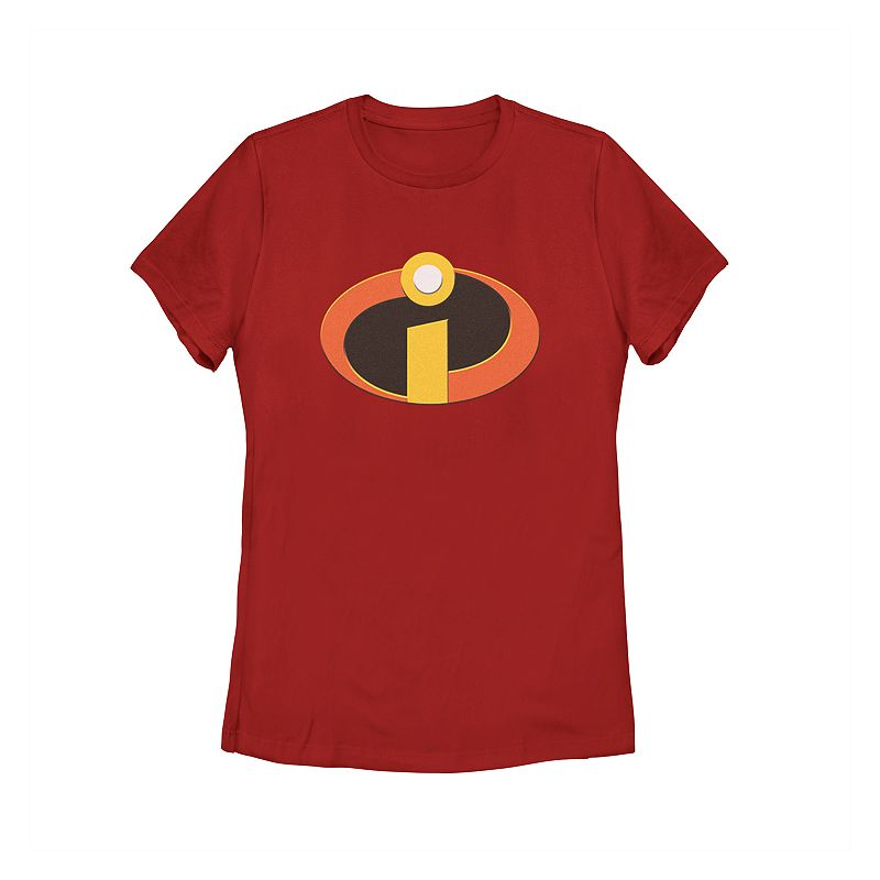 Juniors' Disney / Pixar The Incredibles Logo Tee, Teens, Size: Large, Red Get into character with this juniors' Incredibles tee. Crewneck Short sleeves Fabric & Care Cotton Machine wash Imported Size: Large. Color: Red. Gender: Female. Age Group: Kids.