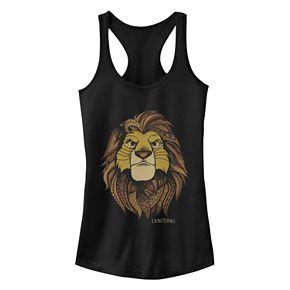 Juniors' Disney's The Lion King Simba Graphic Tank