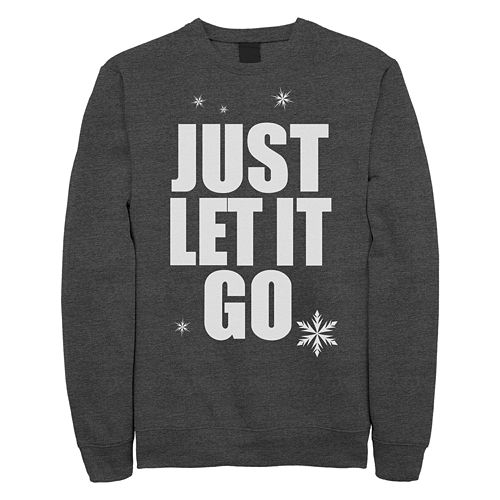 Juniors' Disney's Wreck It Ralph Just Let It Go Crewneck Sweatshirt