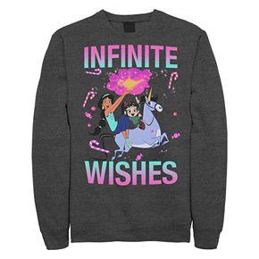 Juniors' Disney's Wreck It Ralph 2 Infinite Wishes Crewneck Sweatshirt