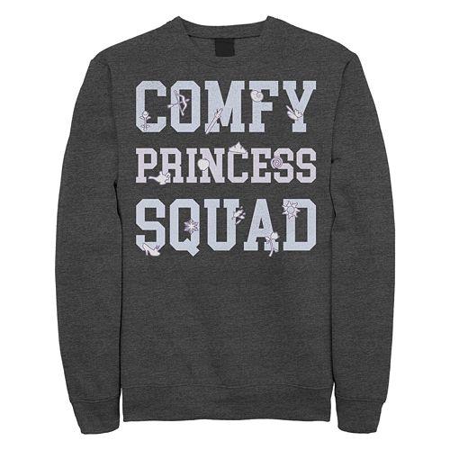 "Juniors' Disney ""Comfy Princess Squad"" Fleece"