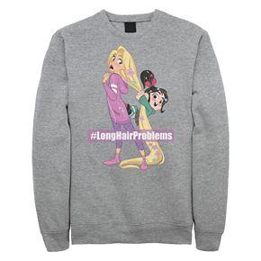 """Juniors' Disney Wreck It Ralph 2 """"Long Hair Problems"""" Fleece"""