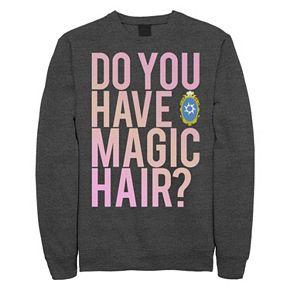"Juniors' Disney Wreck It Ralph 2 ""Do You Have Magic Hair Crew"" Fleece"