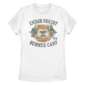 Juniors' Disney Star Wars Endor Forest Tee