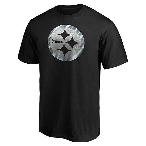 Men's Pittsburgh Steelers Travel Squad Crewneck Short Sleeve Tee
