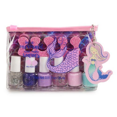 Siimple Pleasures Mermaid 6-Piece Nail Polish Set