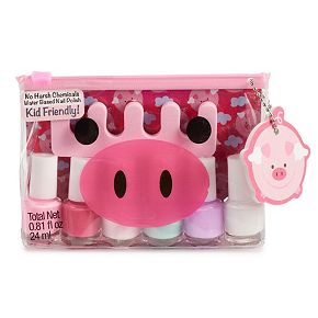 Simple Pleasures Flying Pigs 6-Piece Nail Polish Set