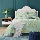 37 West Ava Green Coverlet