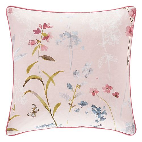 37 West Blakely Rose Square Throw Pillow