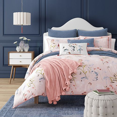 37 West Blakely Rose Comforter Mini Set