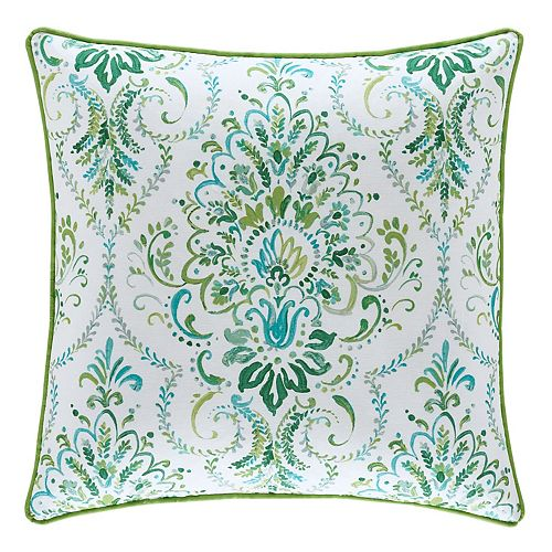 37 West Kinsley Square Throw Pillow