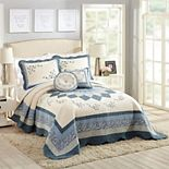 Modern Heirloom Charlotte Bedspread or Sham