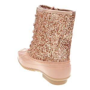 sugar Skipper Women's Glitter Duck Boots
