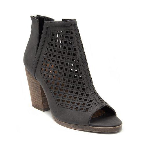 Sugar Vael Chopout Women's Peep Toe Boots
