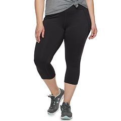 316ba25350f31 Plus Size Tek Gear® Performance Side Pocket Capri Leggings
