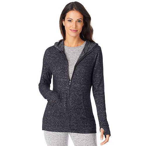 Women's Cuddl Duds® Soft Knit Full-Zip Hoodie