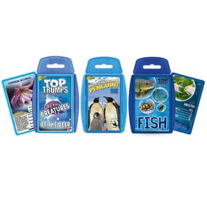 Top Trumps Card Game Bundle - Marina Life