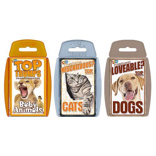 Top Trumps Card Game Bundle - Cute Animals