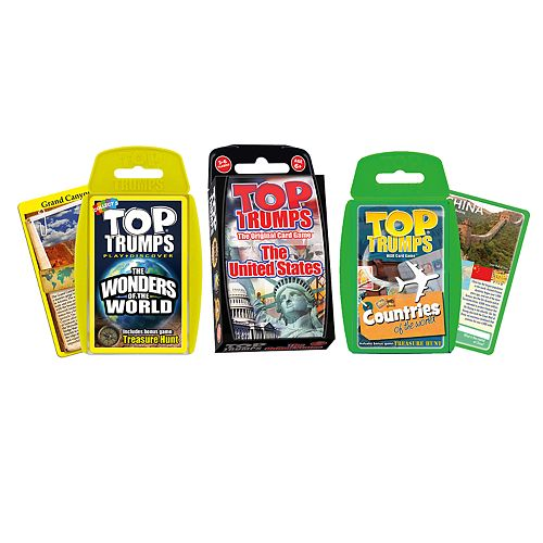 Top Trumps Card Game Bundle - Explore Our World