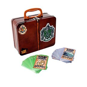 Harry Potter Slytherin Top Trumps Card Game Collectors Tin